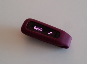 My beloved FitBit One activity tracker.